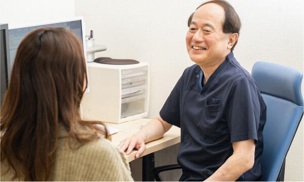 常勤医による毎回の丁寧な回診